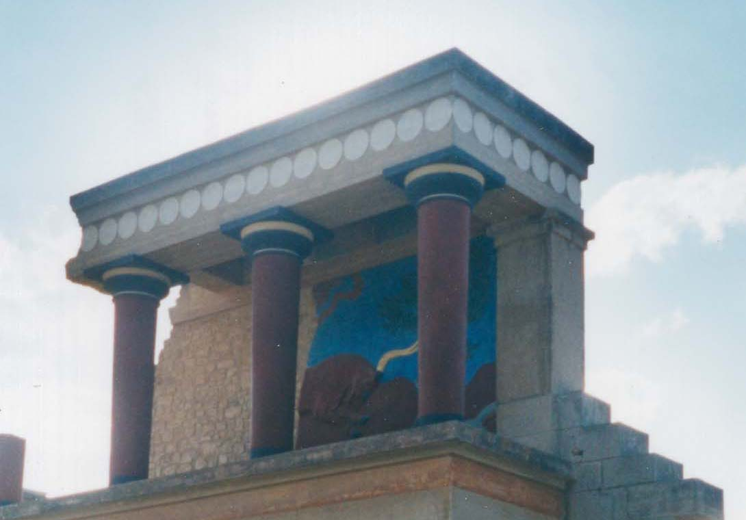 Archaeological ruin at Knossos will make a great day trip